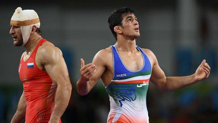 مدال طلای حسن یزدانی در مسابقات جهانی